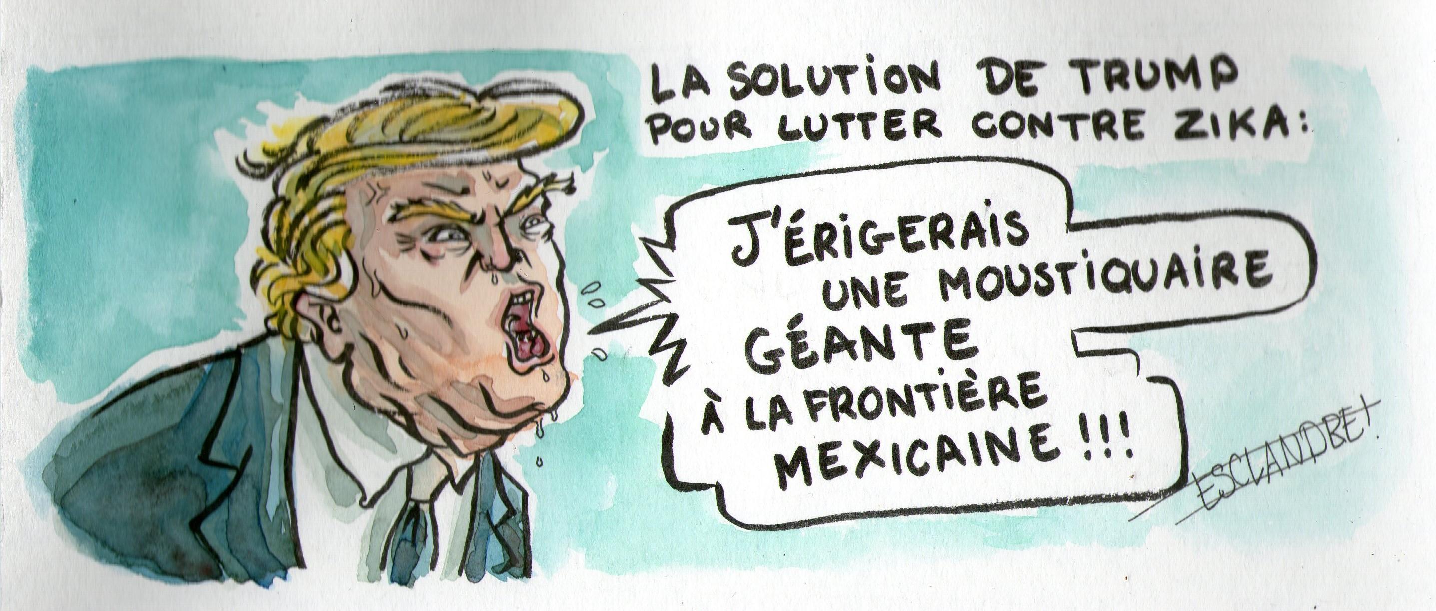 La solution de Trump pour lutter contre Zika
