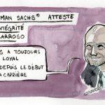 Goldman Sachs atteste de l'intégrité de Barroso