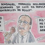 Hollande conteste la crédibilité des sondages