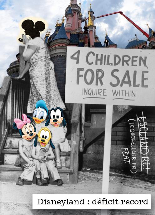 Disneyland affiche un déficit record pour l'année 2016