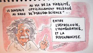 Le sondage, une pseudo-science selon Einstein