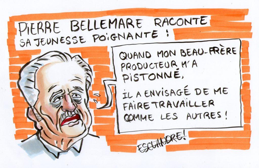Pierre Bellemare nous raconte sa jeunesse poignante, pleine de larmes et parfois même sans caviar...