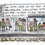Que les usagers du RER B se consolent, ils ont l'immense privilège d'être les pionniers de la circulation alternée les trains d'Île-de-France !