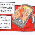 La diplomatie selon Trump : Twitter