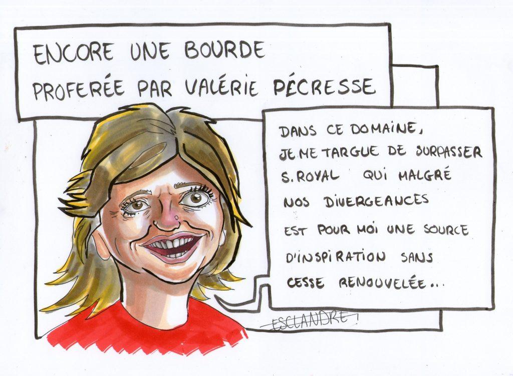 Valérie Pécresse enchaîne les bourdes