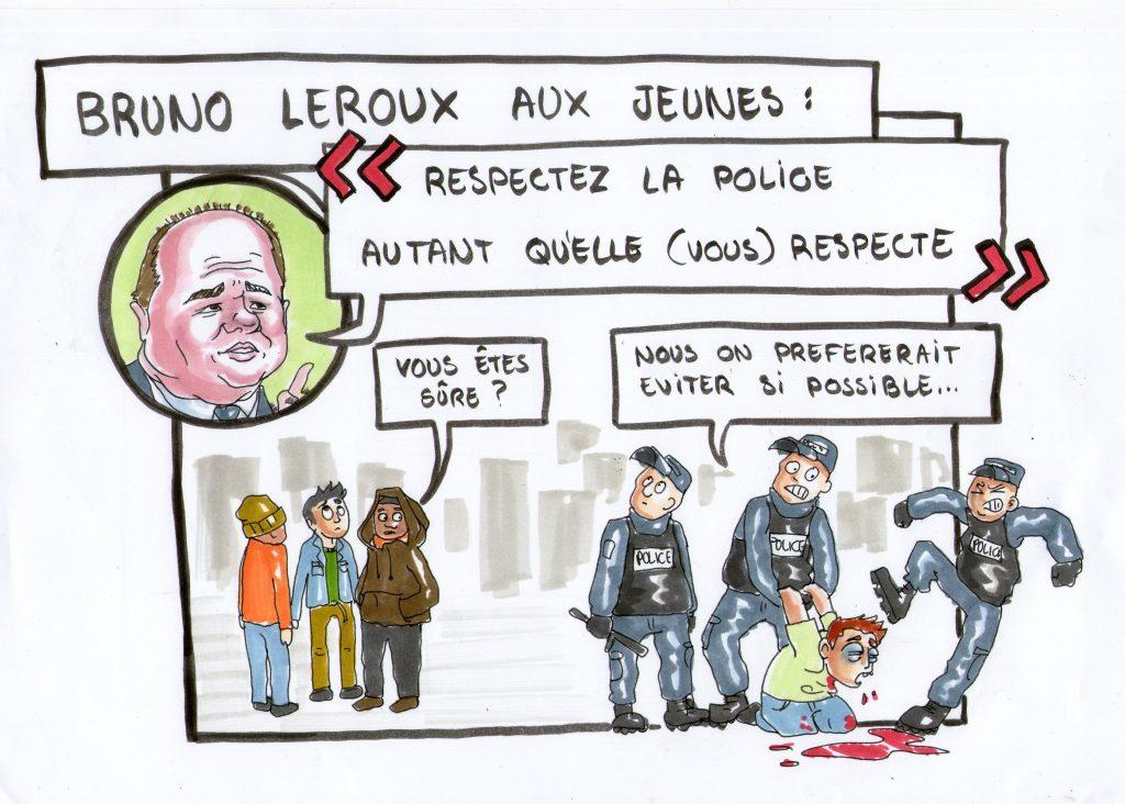 Bruno Leroux s'adresse aux jeunes suite aux violences policières