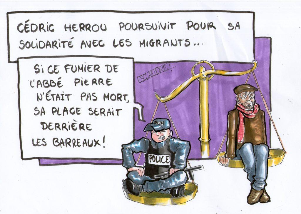 Cédric Herrou condamné pour délit de solidarité