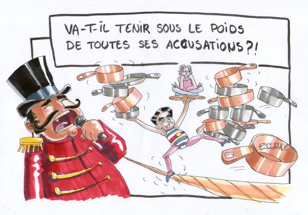 François Fillon va-t-il tenir sous le poids de toutes ses accusations ?