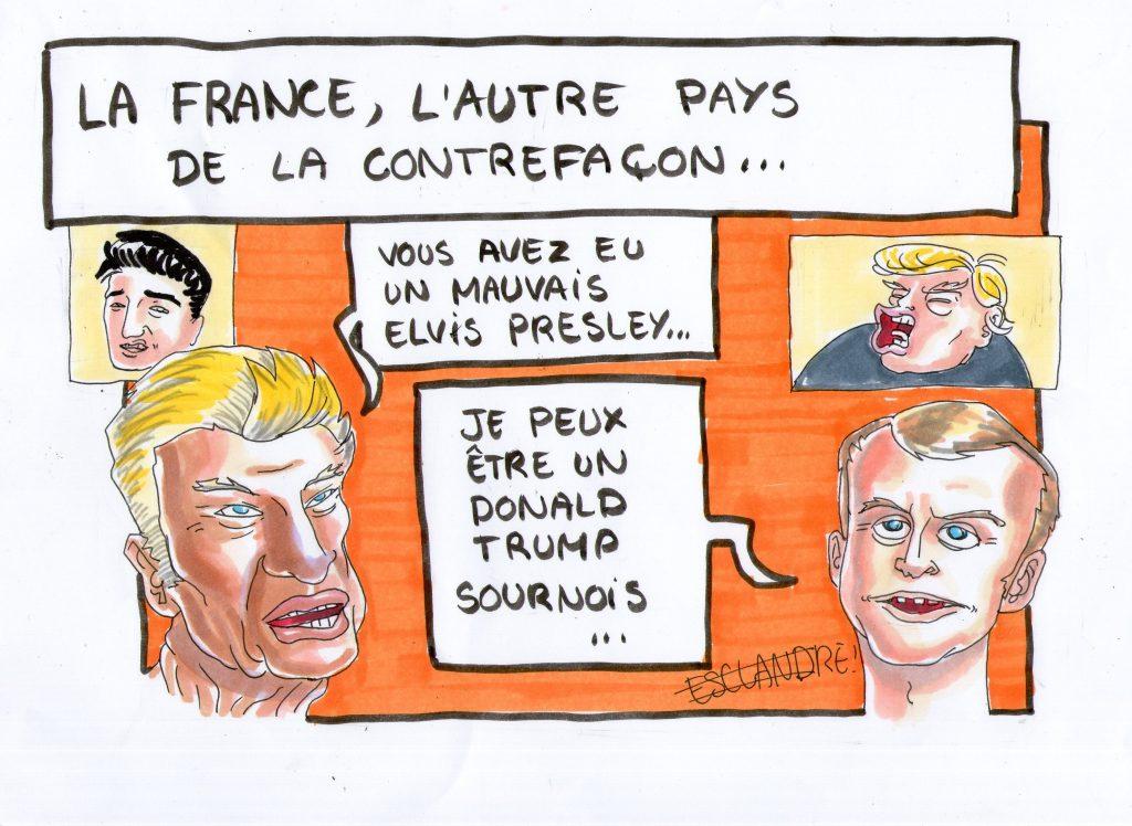 La France, l'autre pays de la contrefaçon…
