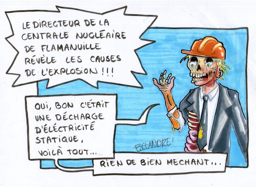 Incident à la centrale nucléaire de Flamanville : rien de grave