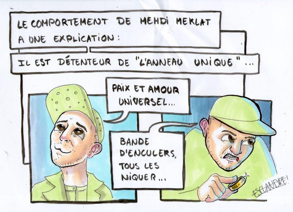Le comportement de Mehdi Meklat a une explication