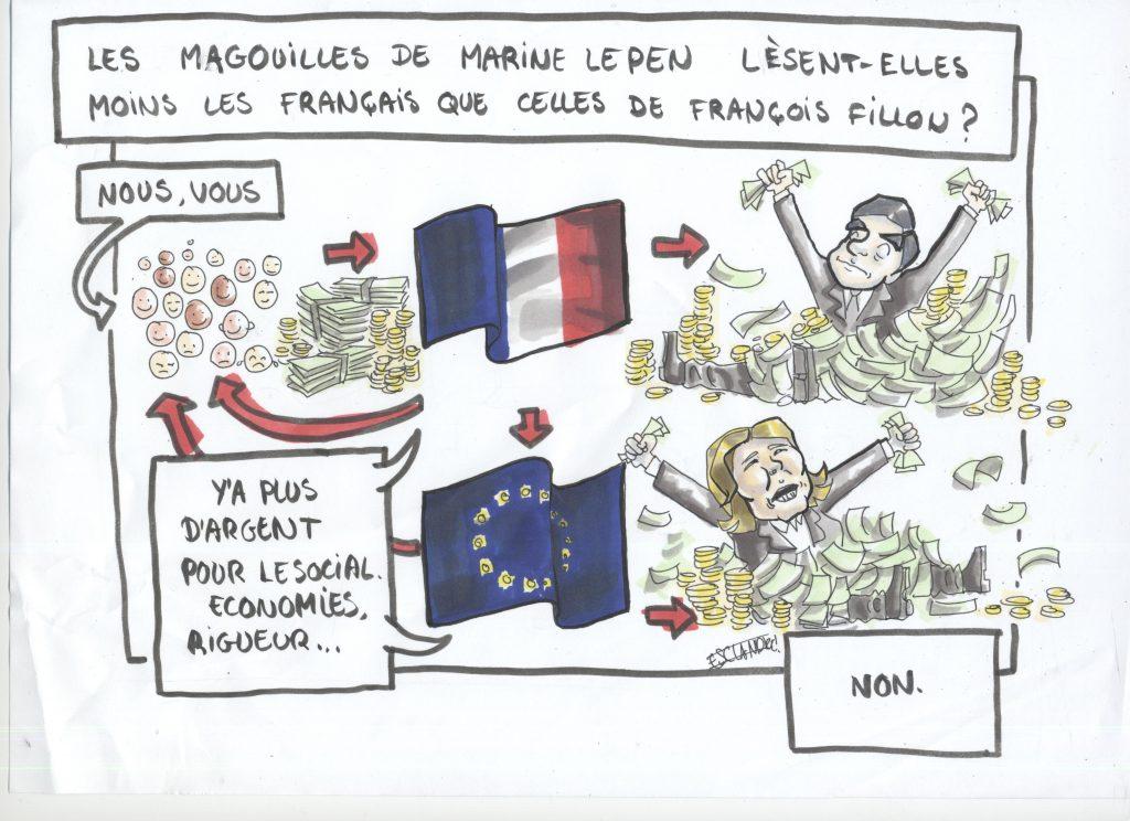 François Fillon, Marine Le Pen, même combat ?