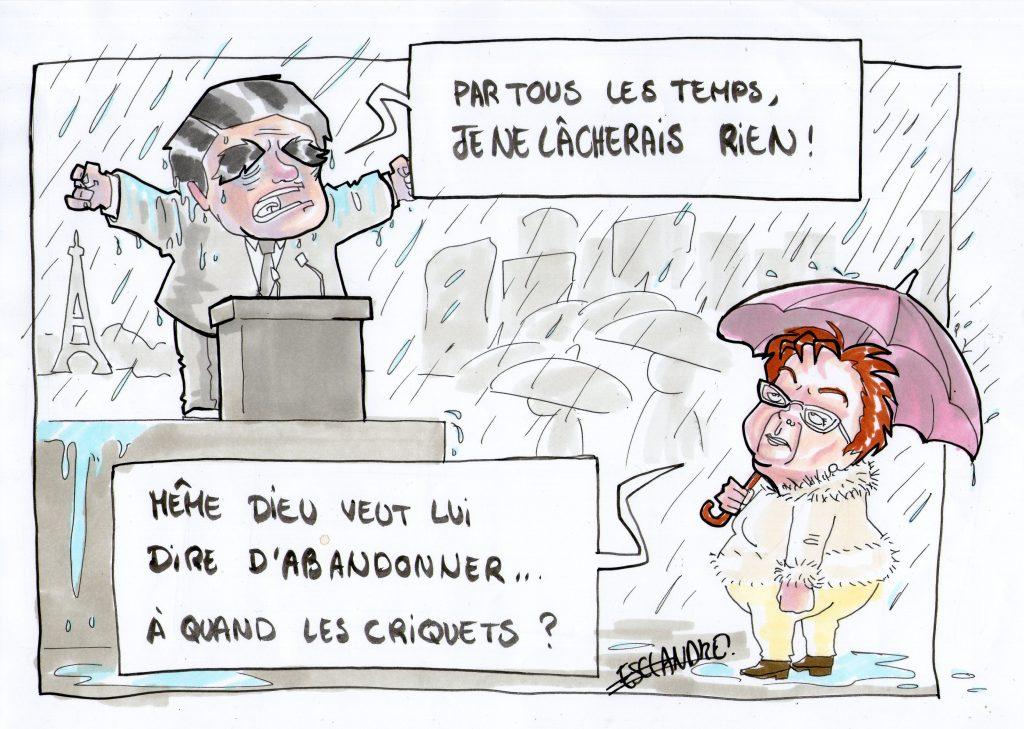 François Fillon au Trocadéro : il ne lâchera rien