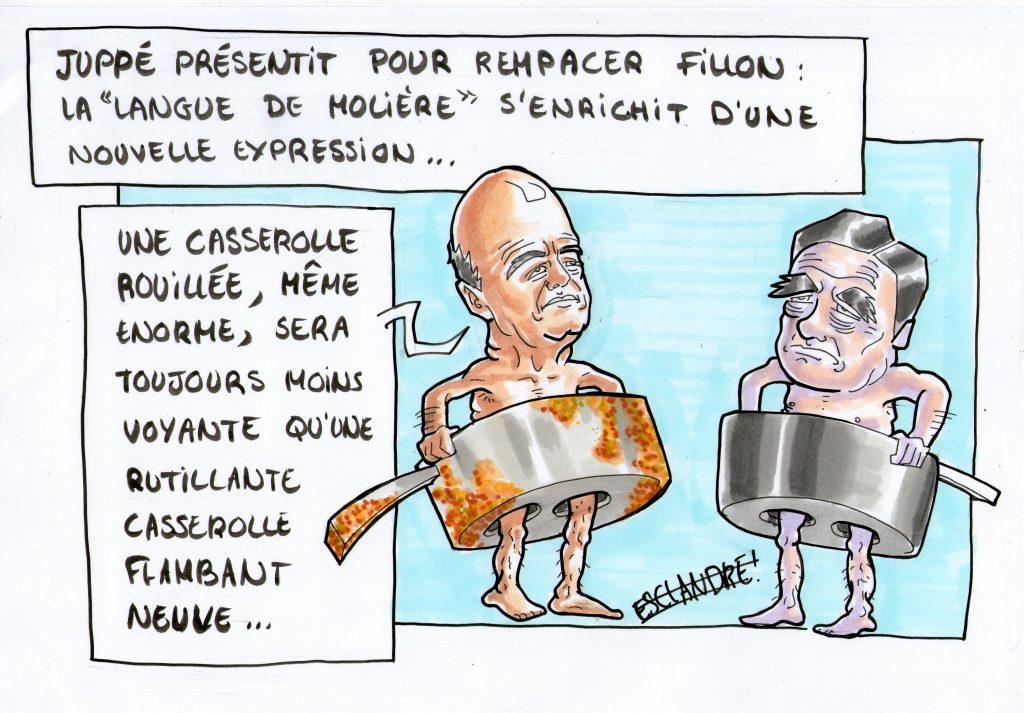 Les vieilles casseroles de Juppé sont-elles invisibles ?