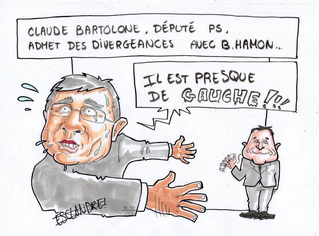 Claude Bartolone reconnait avoir des divergences avec Benoit Hamon