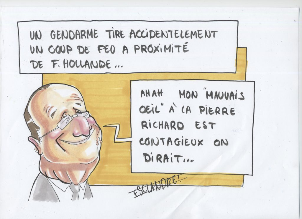 "Hollande atteint du syndrome ""Pierre Richard"""