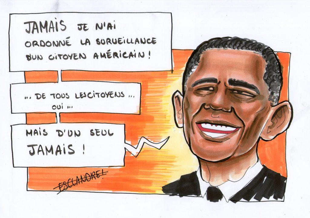 La surveillance des citoyens américains selon Barack Obama