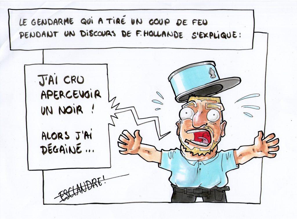 Coup de feu au discours de Hollande : dernières révélations !