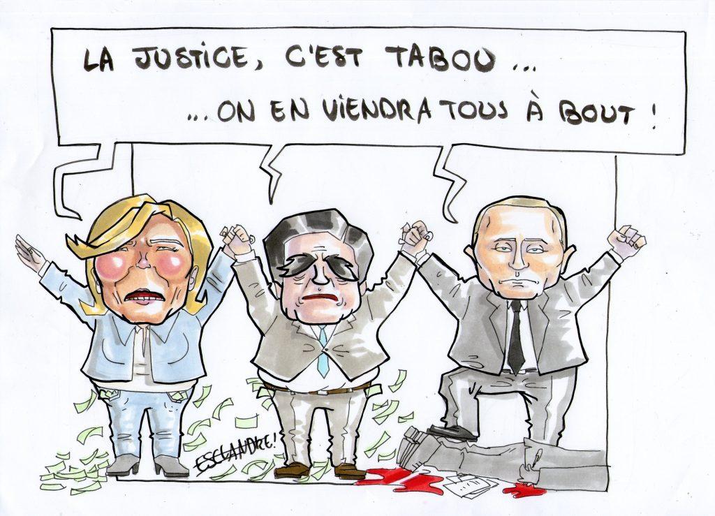La justice, c'est tabou… On en viendra tous à bout !
