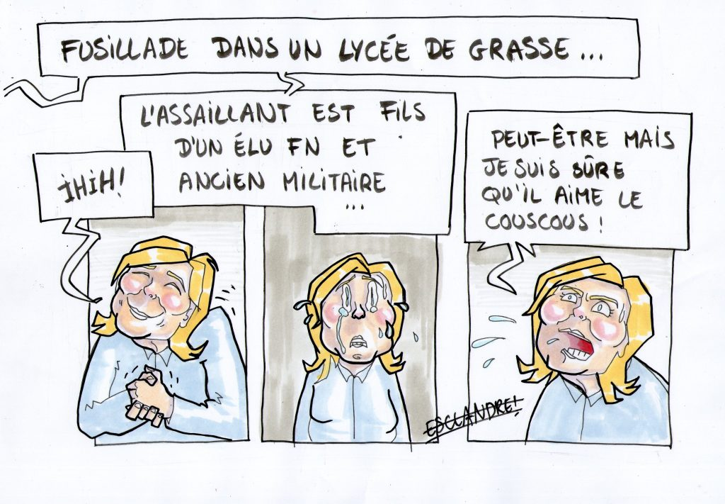 Marine Le Pen donne des informations complémentaires…