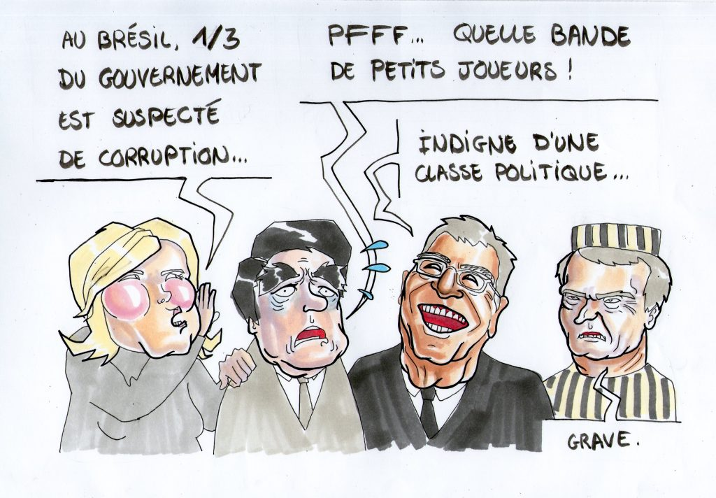 Corruption des politiciens : la France championne !