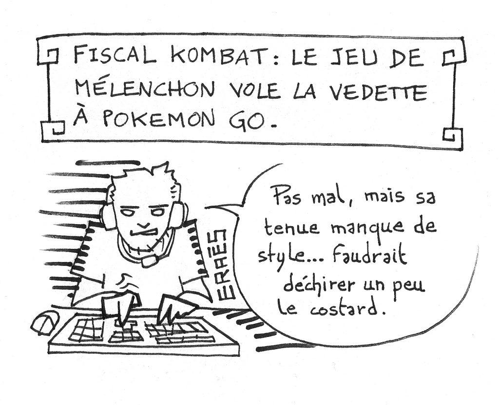 Fiscal Kombat le nouveau beat them all de Mélenchon !