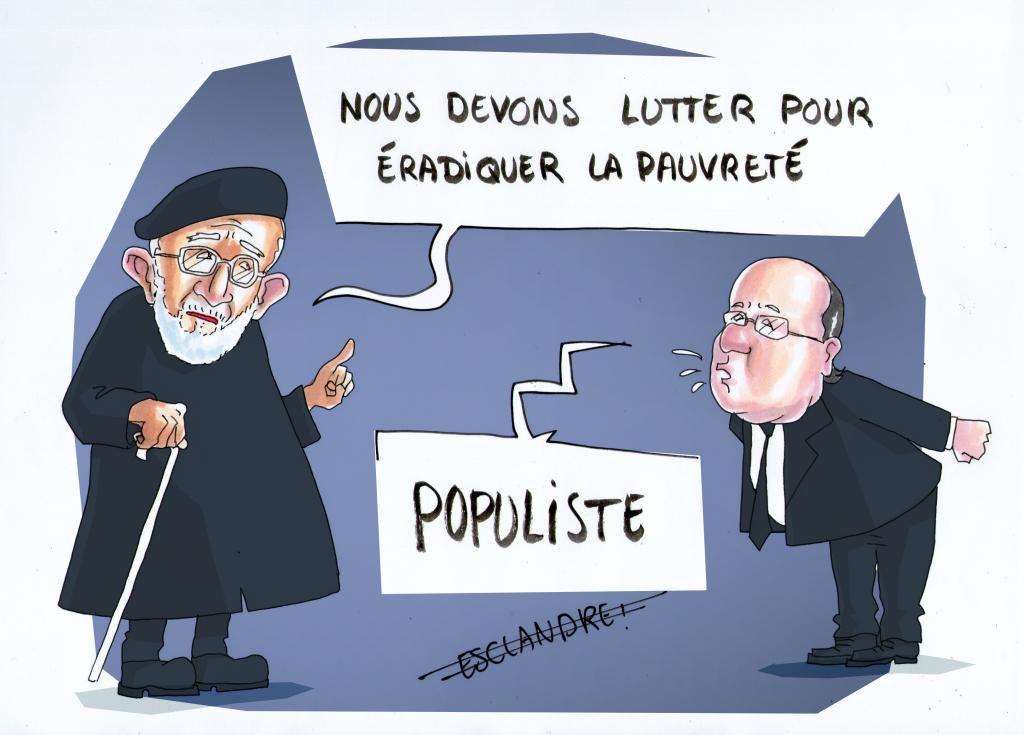 Hollande dénonce le populisme de gauche