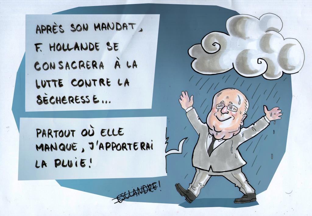 François Hollande prêt à se reconvertir après la présidentielle