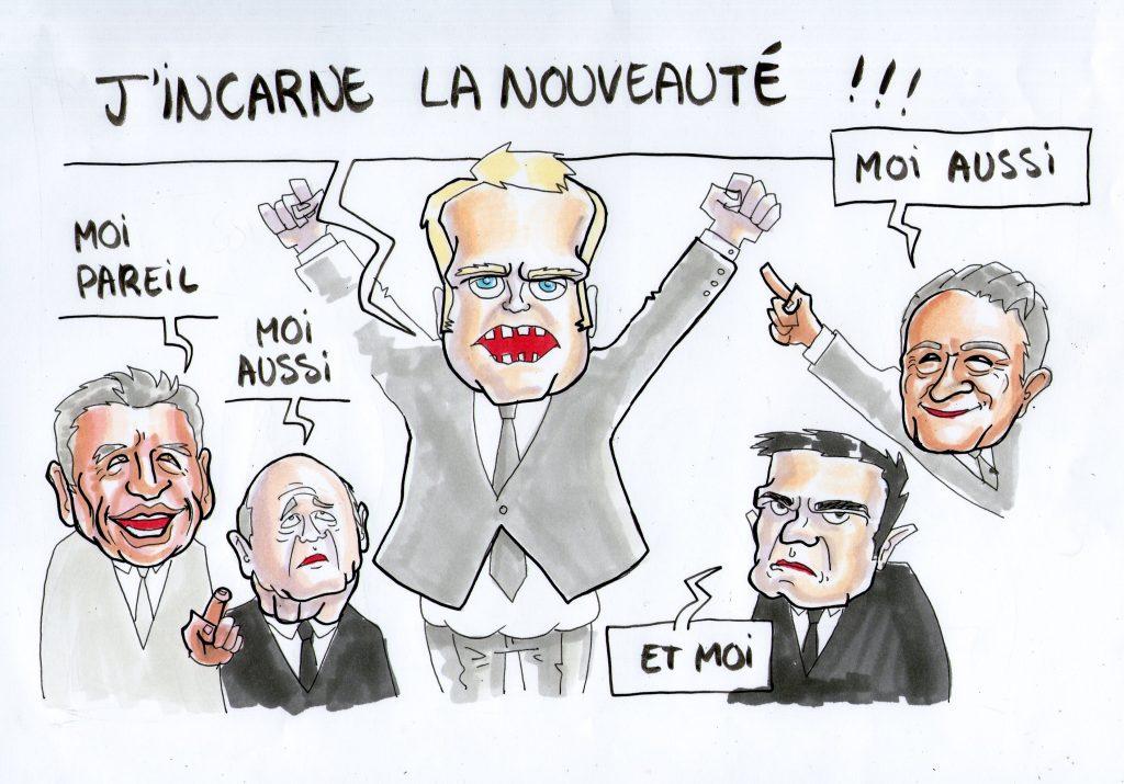 La définition de la nouveauté selon Macron