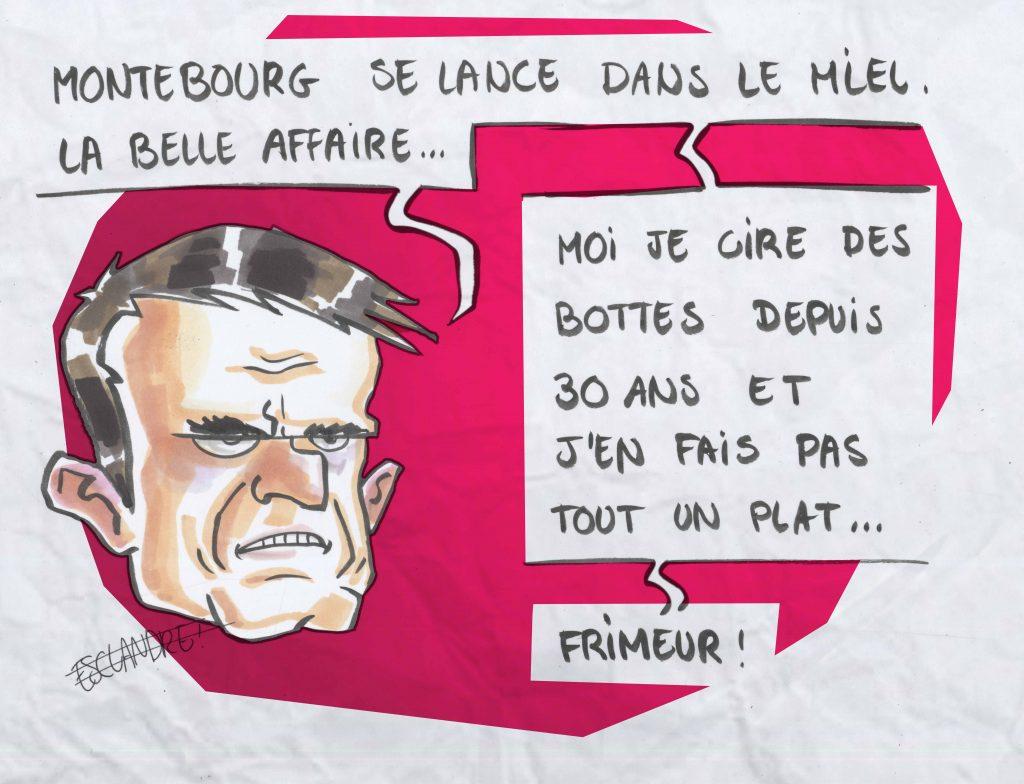 Montebourg se lance dans le miel mais, qu'en pense Valls ?