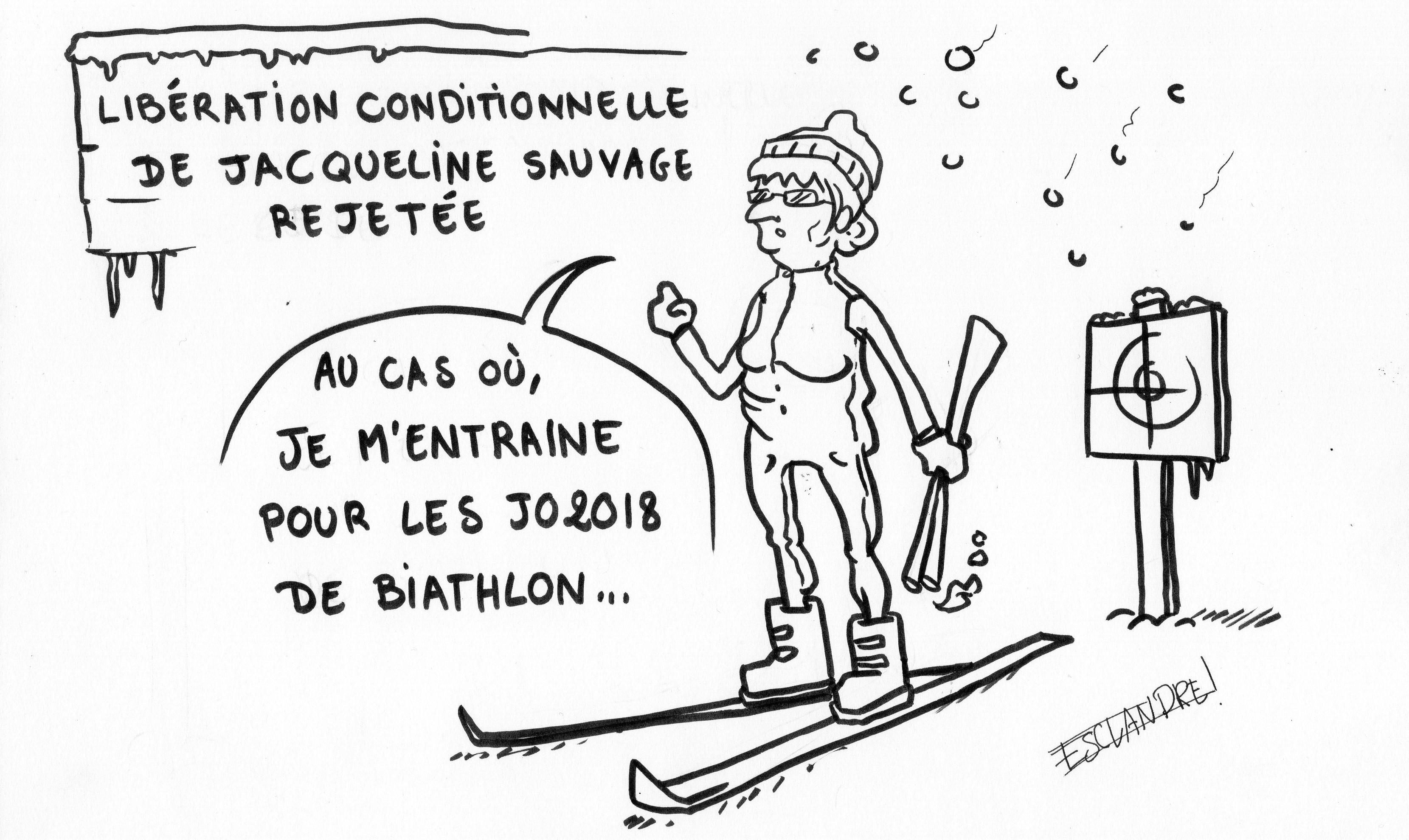 Libération conditionnelle de Jacqueline Sauvage rejetée