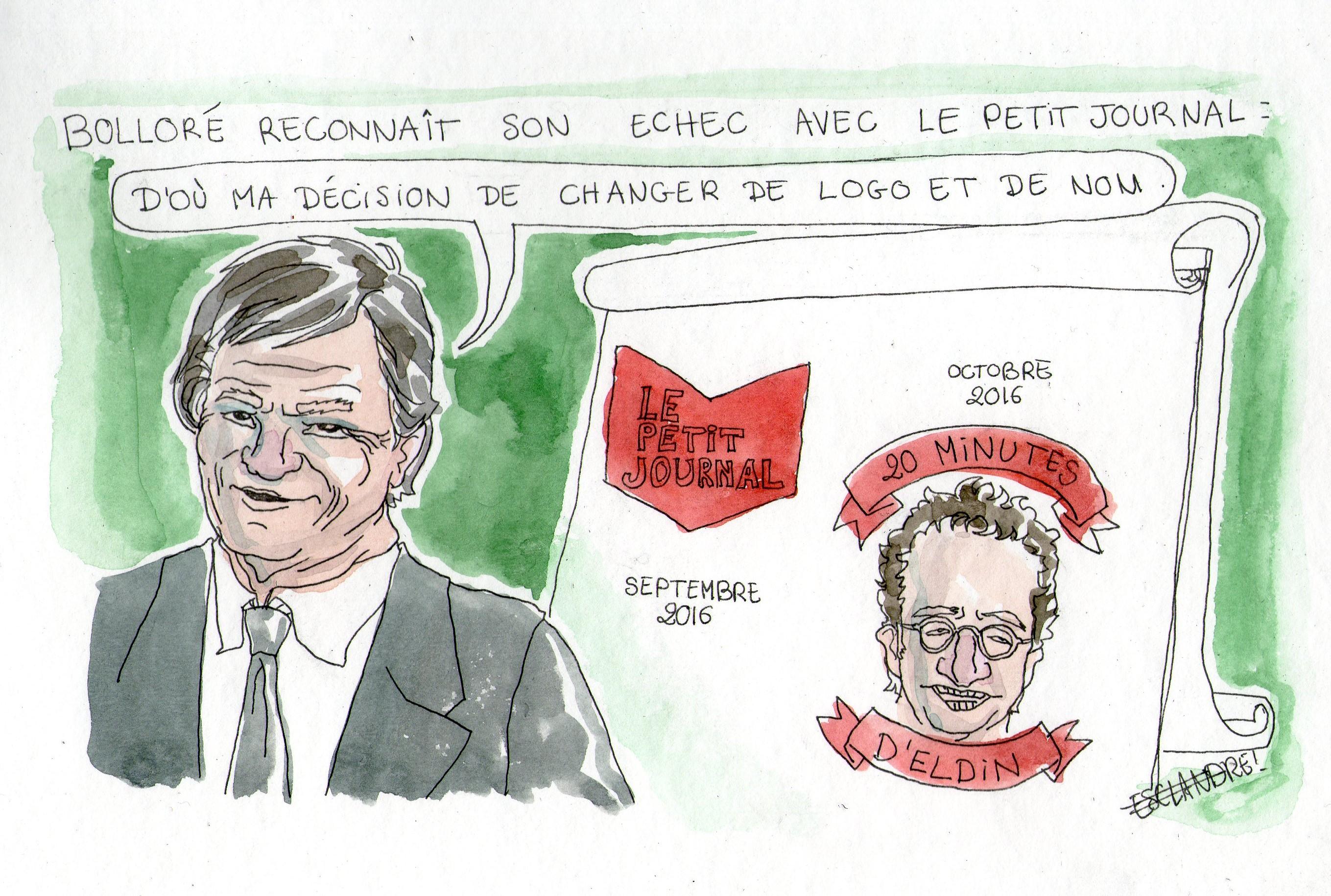 Bolloré reconnait son échec avec le Petit Journal