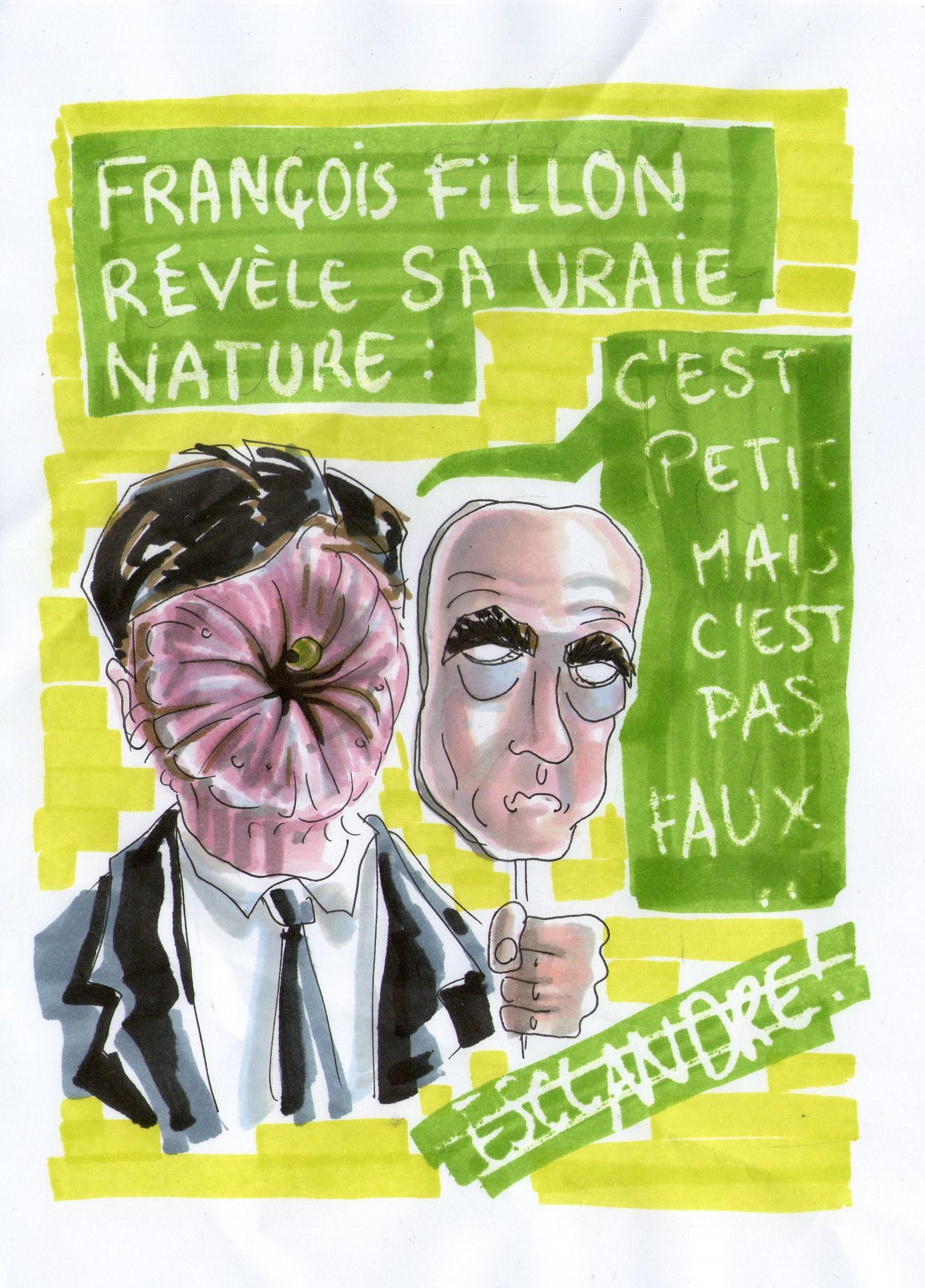 François Fillon révèle sa vraie nature