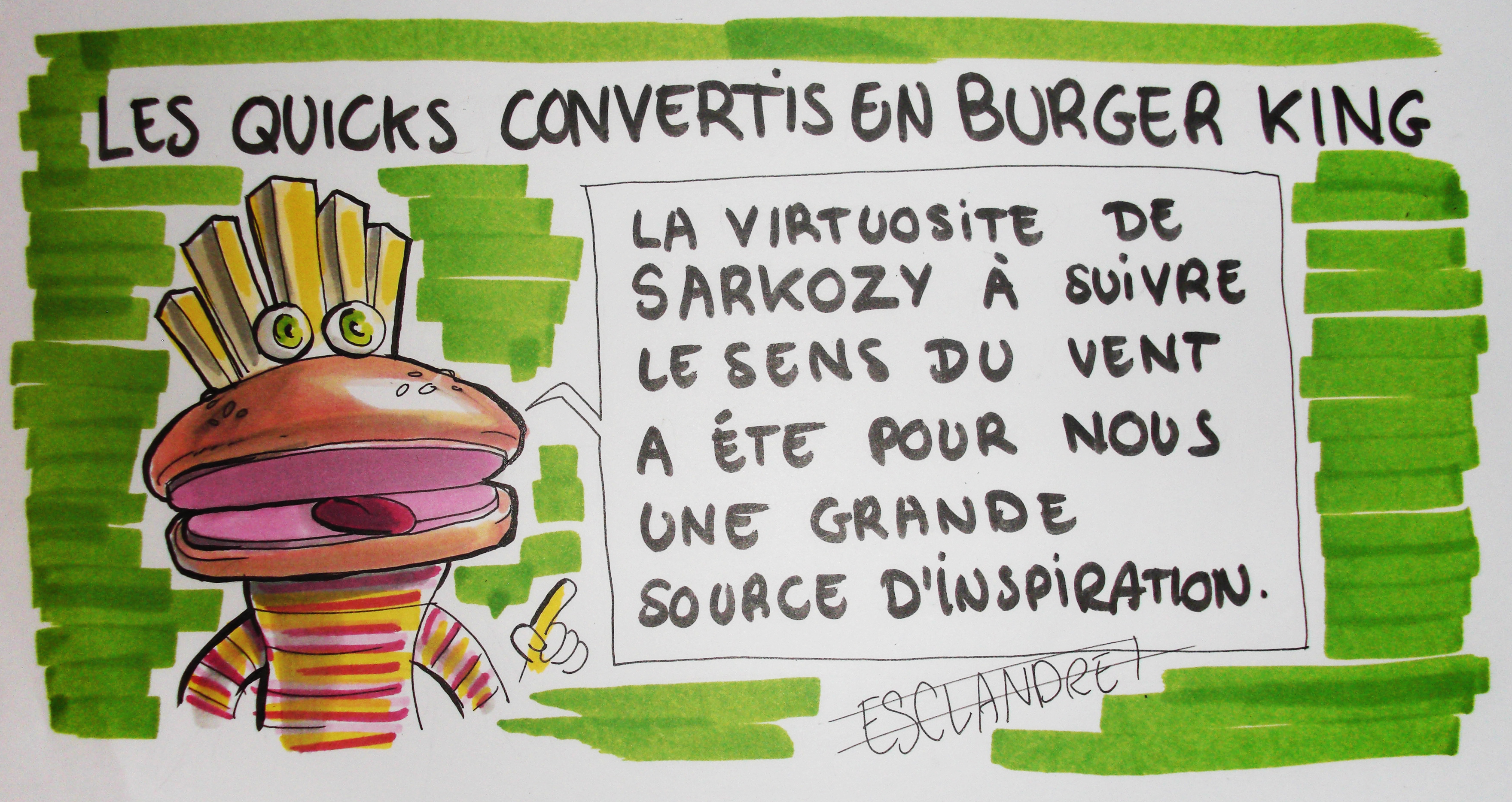 Les Quicks convertis en Burger King