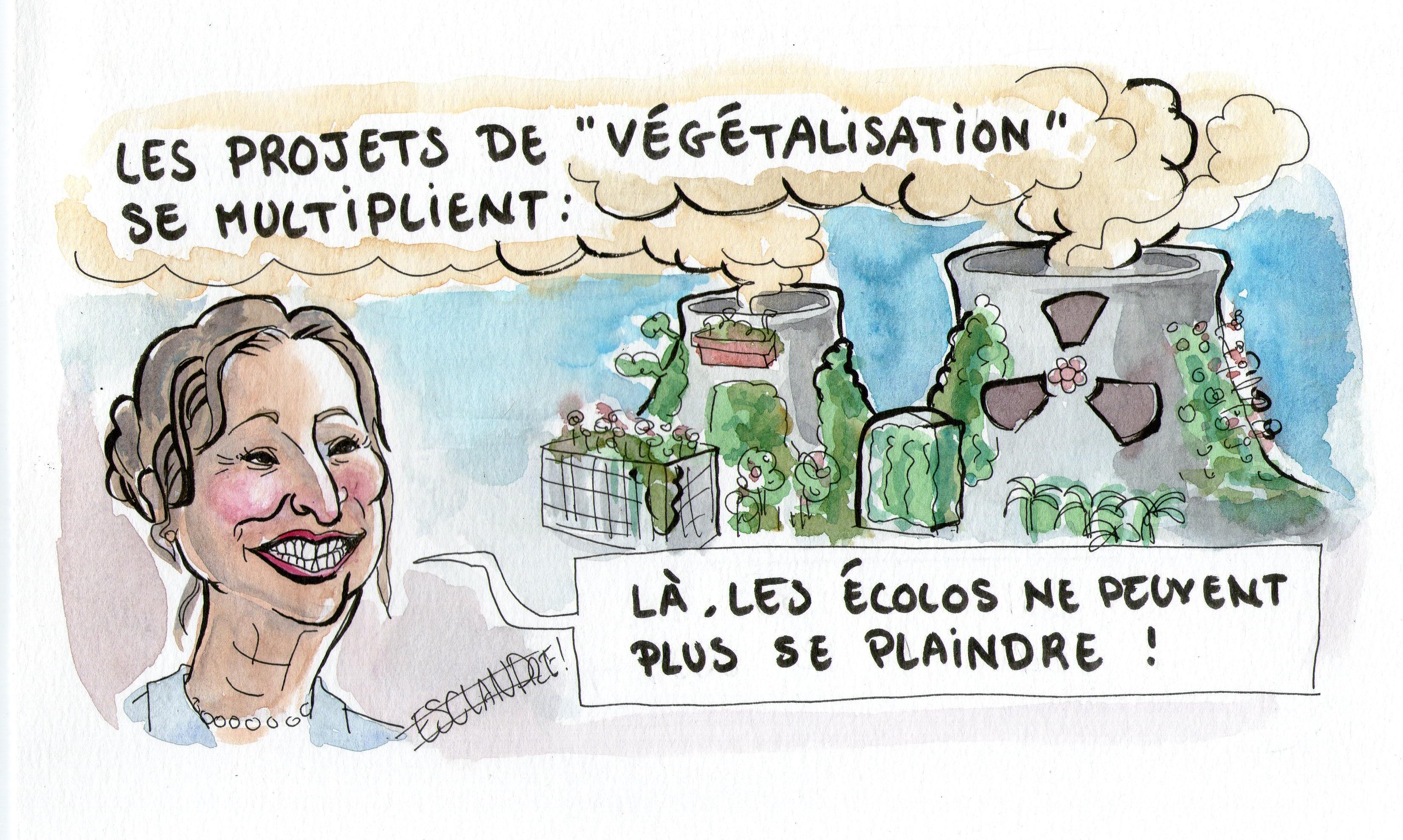 Les projets de «végétalisation» se multiplient