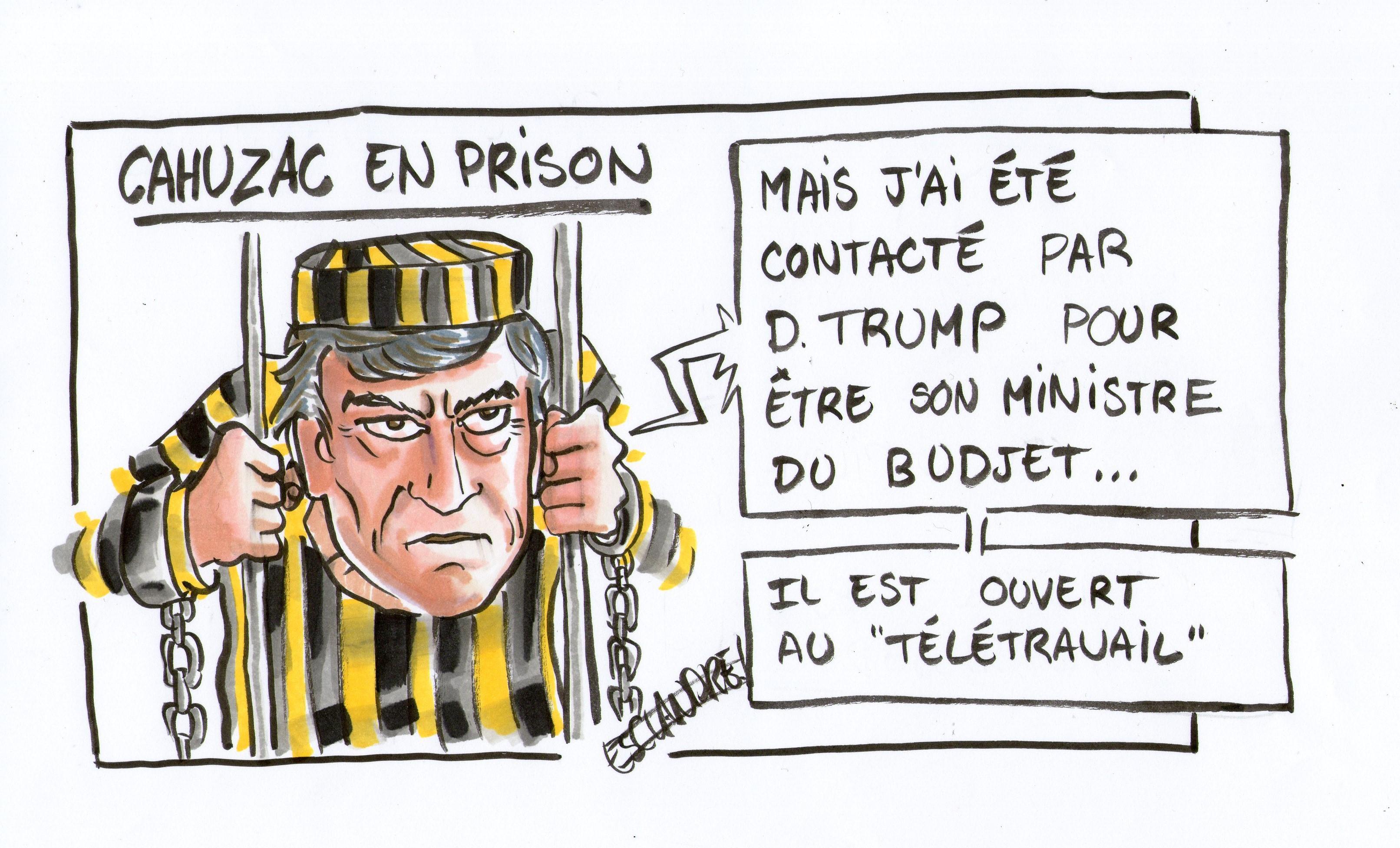 Cahuzac en prison : de nouvelles opportunités de carrière