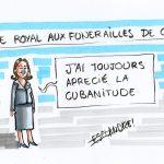 """Ségolène Royal, un néologisme pour chaque occasion : la """"Bravitude"""" en Asie et la """"Cubanitude"""" dans les Caraïbes."""