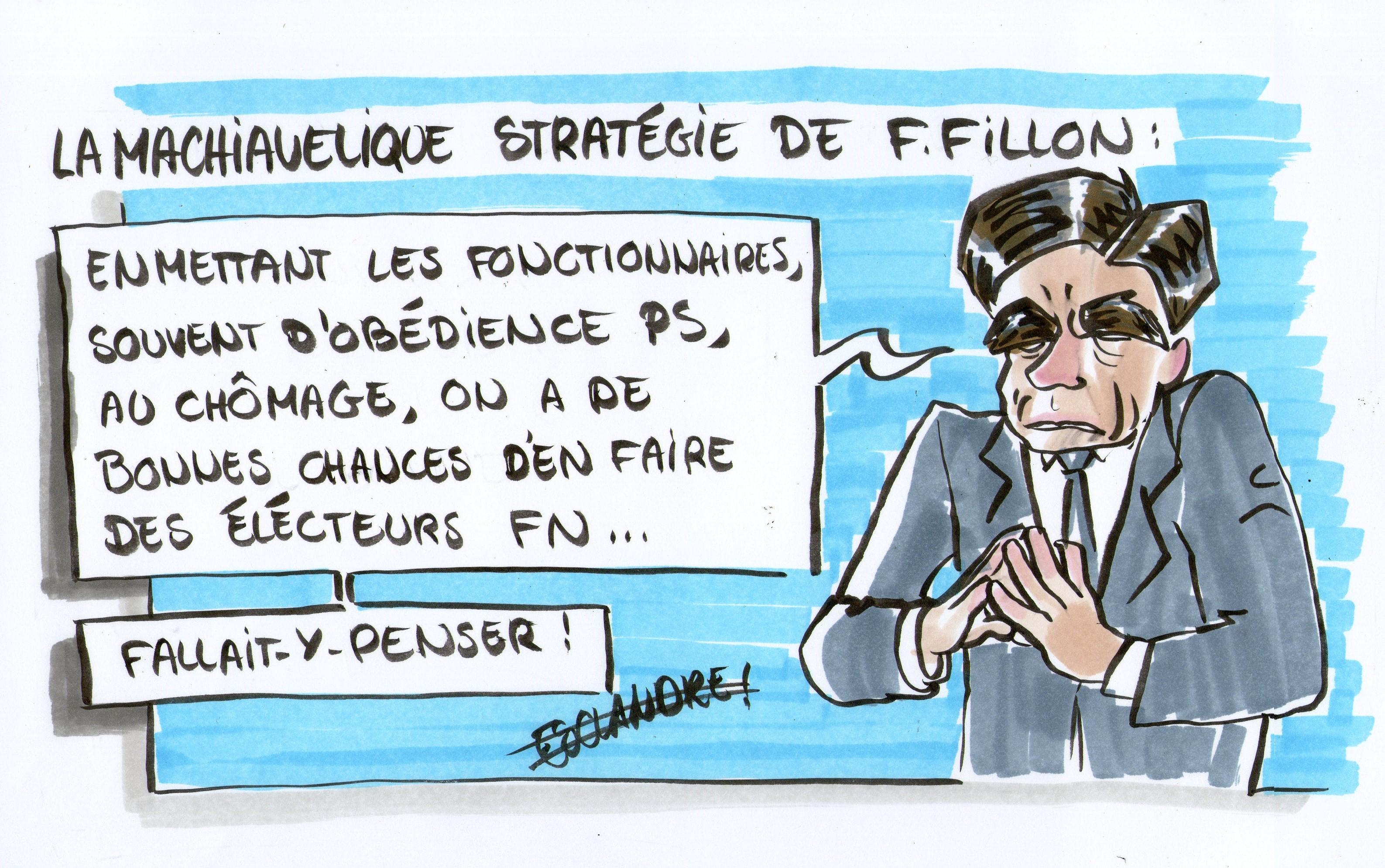 La machiavélique stratégie de François Fillon