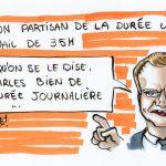 """Emmanuel Macron dément toute rumeur qualifiant sa politique de """"sociale"""". Il rajoute : """"cette idée m'est plus qu'odieuse !"""""""