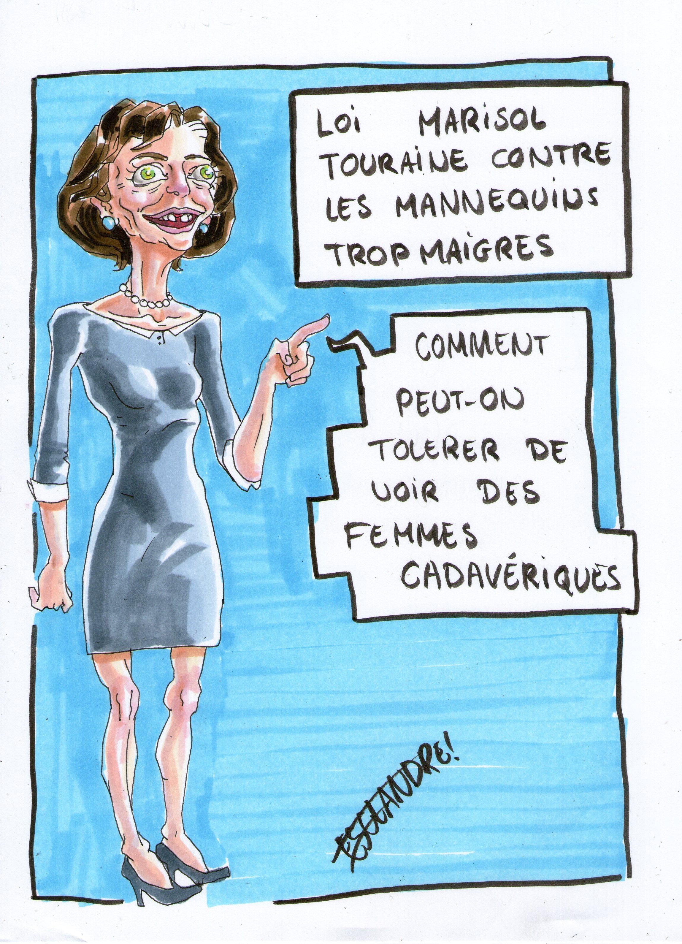 Loi Marisol Touraine : une lutte contre les mannequins trop maigres
