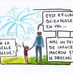 Nous tenons à remercier François Fillon pour ce magnifique spectacle hivernal qui ne cesse de nous émerveiller ! Fillon explose : une féerie de 7 à 77 ans.