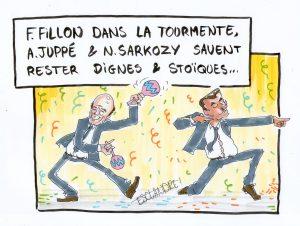 Jubilation au sein des LR, sans Fillon, la fête est plus folle !